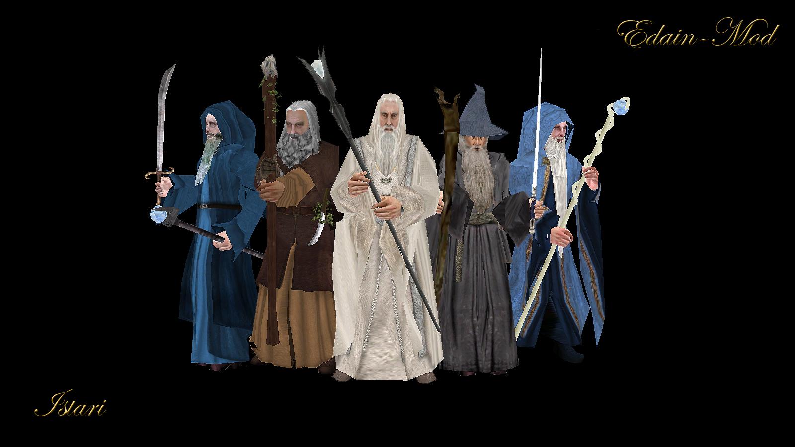 P.O Tolkien y su obra. - Página 4 Istari_1321959989